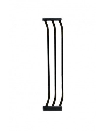 ZOE 18 CM GATE EXTENSION - BLACK