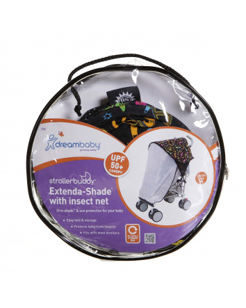 STROLLERBUDDY® EXTENDA-SHADE® WITH INSECT NET