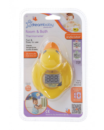 DUCK BATH & ROOM THERMOMETER