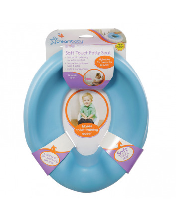 SOFT TOUCH POTTY SEAT - BLUE