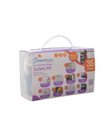 NO TOOLS, NO SCREWS, SAFETY VALUE PK 35PC UK