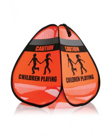 'CHILDREN AT PLAY' WARNING SIGN