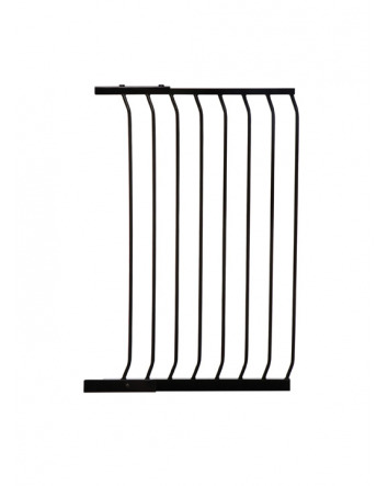 "CHELSEA TALL 63CM (24.5"") GATE EXTENSION - BLACK"