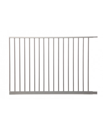 105CM EXTENSION EMPIRE SECURITY GATE SILVER
