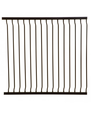 LIBERTY TALL 100 CM GATE EXTENSION BLACK