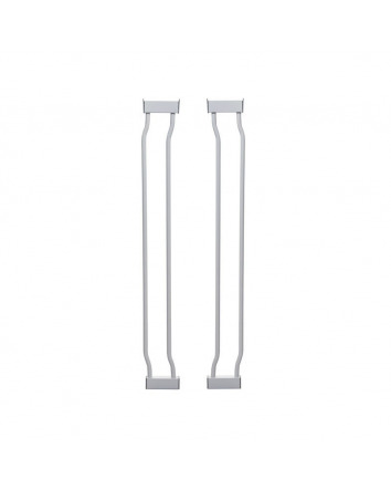 LIBERTY 9CM GATE EXTENSION - WHITE 2 PACK