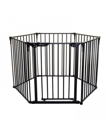 ROYALE 3-IN-1 CONVERTA® PLAY-PEN GATE - BLACK