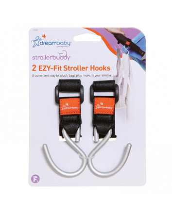 STROLLERBUDDY® EZY-FIT STROLLER HOOKS 2 PACK