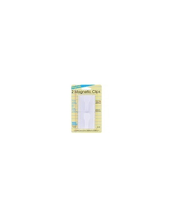 STATIONERY MAGNETIC CLIPS 2 PACK