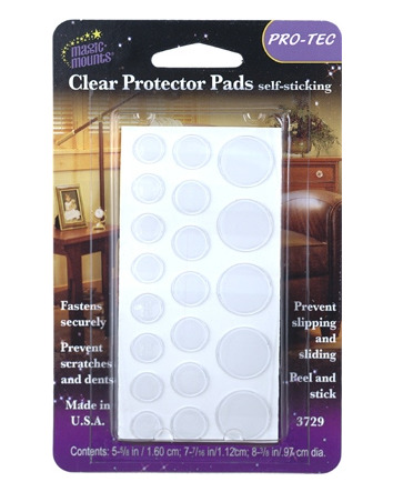 20 CLEAR PROTECTOR PADS