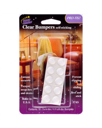 CLEAR BUMPERS SELF-STICK