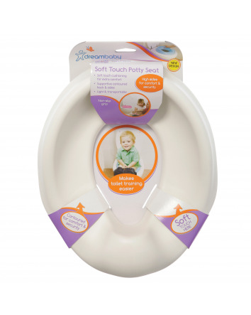 SOFT TOUCH POTTY SEAT - WHITE