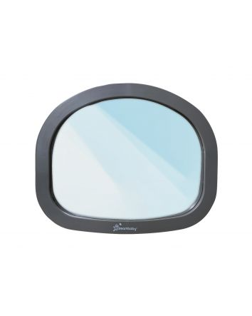 EZY-FIT ADJUSTABLE BACKSEAT MIRROR - GREY