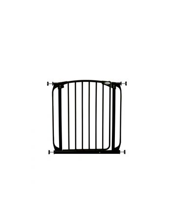 ZOE AUTO-CLOSE PET SECURITY GATE- BLACK