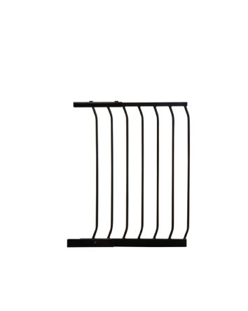 "CHELSEA 17.5"" (45CM) GATE EXTENSION STANDARD - BLACK"