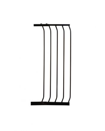"CHELSEA TALL 36CM (14"") GATE EXTENSION  - BLACK"