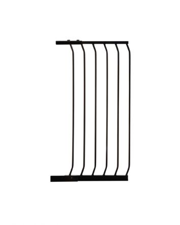 "CHELSEA TALL 45CM (17.5"") GATE EXTENSION - BLACK"