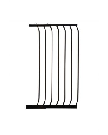"CHELSEA TALL 54CM (21"") GATE EXTENSION - BLACK"