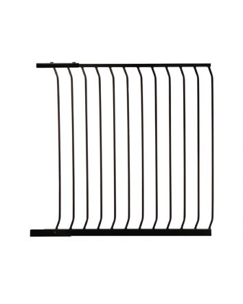 "CHELSEA TALL 100CM (39"") GATE EXTENSION - BLACK"