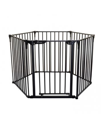 ROYALE 3-IN-1 CONVERTA® PLAY-PEN GATE - BLACK