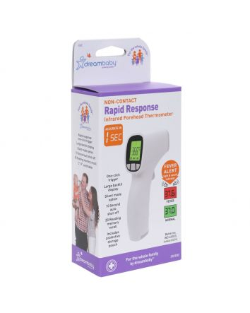 NON-CONTACT RAPID RESPONSE INFRARED FOREHEAD THERMOMETER