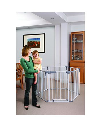 ROYALE 3-IN-1 CONVERTA® PLAY-PEN GATE - WHITE